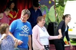 dancing with carers